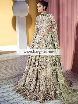 Elegant Wedding Maxi Dress Surrey London UK Suffuse By Sana Yasir