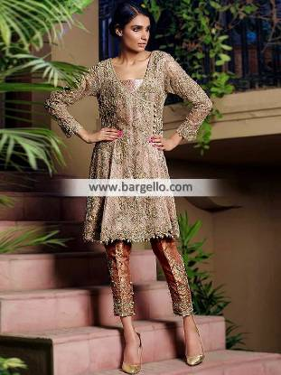 Latest Short Frock Designs Latest Angrakha Top for next Formal Events