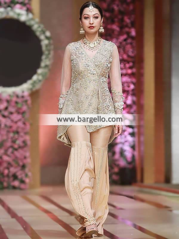 Fancy Angrakha Dresses Missouri City Texas TX US Pakistani Designer Angrakha Dresses