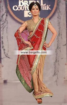Indian Bridal Saree Online Latest Designer Bridal Sarees Houston Texas TX USA Mehdi Saree Collection