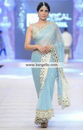 Marvelous Indian Pakistani Saree Wedding Guest Saree Nida Azwer Bridal Saree Collection PFDC