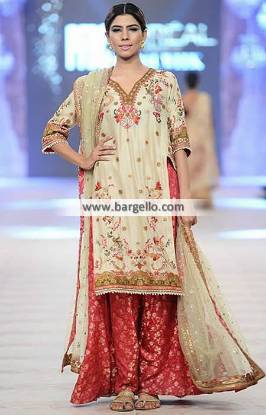 Pakistani Sharara Dresses Wedding Event Misha Lakhani Sharara Collection PFDC 2014