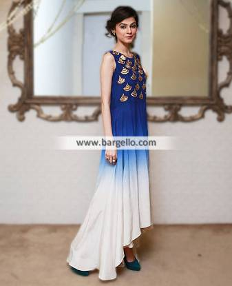 Evening Dresses Pakistan Maria B Pishwas Collection Pishwas Dresses 2014-2015