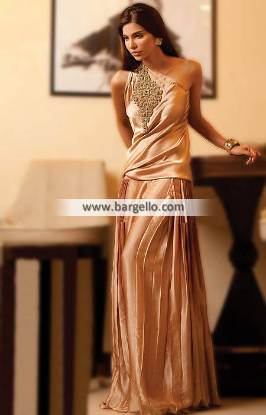 Party Dress Pakistani for Guest of Wedding or Special Occasions 2014 Gul Ahmed Pret Collection