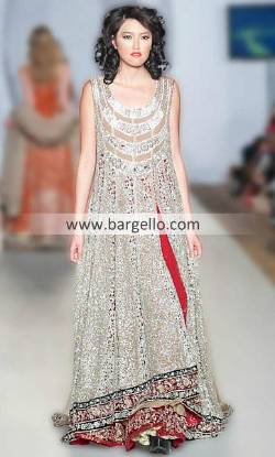 Zainab Sajid Evening Party Outfits For Big Occasions at Pakistan Fashion Week London UK