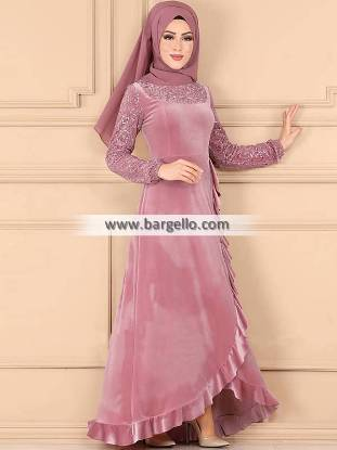 Bubble Gum Primulaceae High Quality Embroidered Jilbab Paramus New Jersey NJ USA