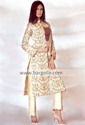 Pakistani Formal Dress, Designer Party Wear, Trouser Suit