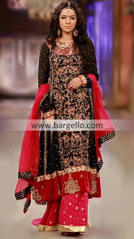 Nomi Ansari Bridal Couture Week Party Dresses Collection Leicester UK