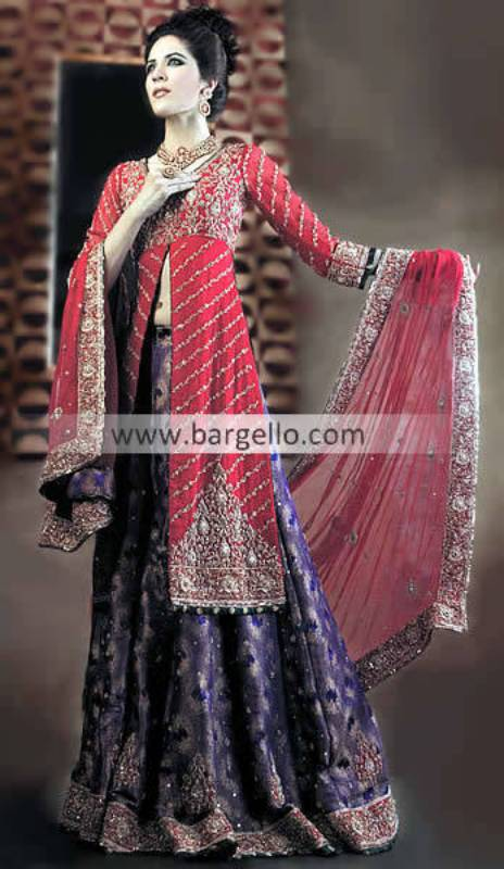 Pakistani Bridal Sharara, Banarasi Bridal Sharara, Pakistani Indian Bridal Outfits Online