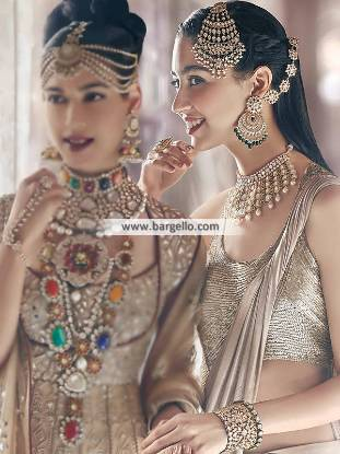Designer Choker Earring and Jhoomer Sets Indian Designer Jewellery Sets