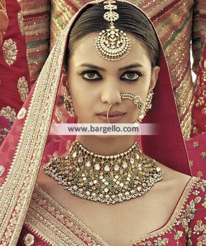Exclusive Nauratan Jewellery Sets Nauratan Bridal Choker Sets