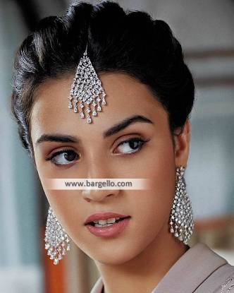 Indian Designer Luxury Jewellery Sets Edinburgh UK Renu Oberoi Earrings Tika Set