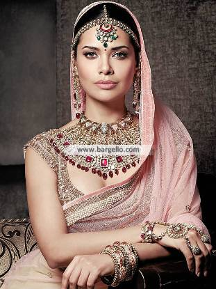 Pakistani Bridal Choker Sets Soho Road UK Gorgeous Silver Jewellery Set