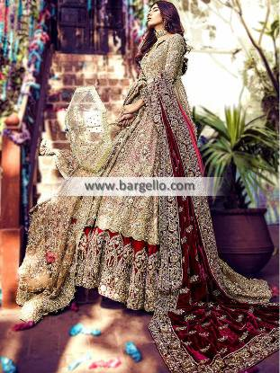 Traditional Pakistani Designer bridal dresses Glenfield Australia Bridal Wedding Dress With Price