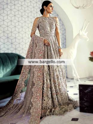 Walima Bridal Maxi Dresses Glasgow Scotland Designer Bridal Maxi for Walima Pakistan