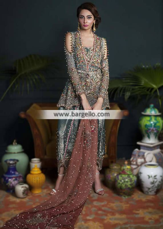 Tulip Shalwar Party Dresses Trends in Pakistan Newcastle UK
