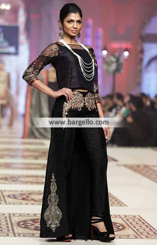 Designer Party Dresses Sydney Australia Asifa Nabeel TBCW Embroidered Trouser