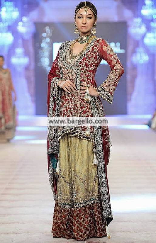 Nickie Nina Bridal Sharara Angrakha Bridal Sharara Dresses
