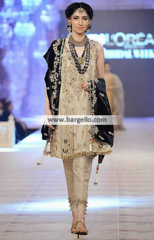 Nickie Nina Party Wear Pakistan Formal Wear Wedding Collection PFDC