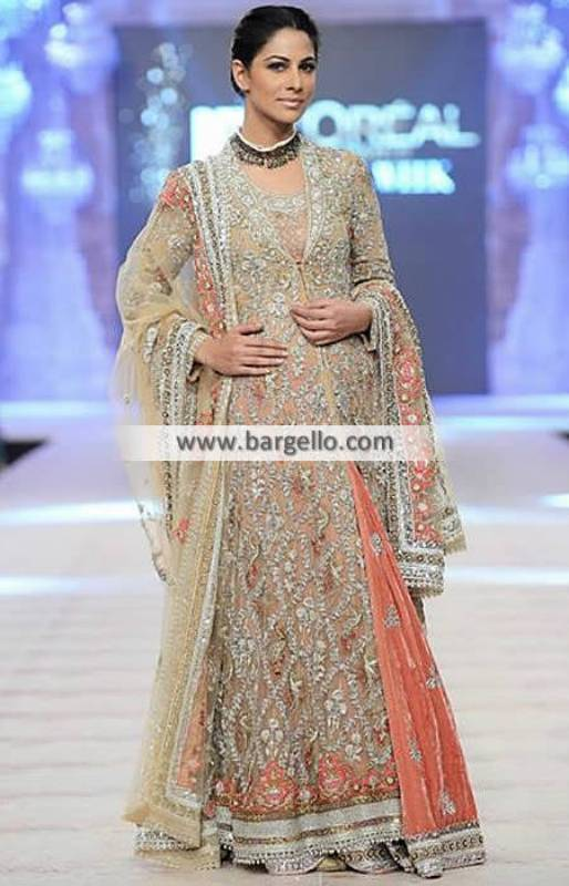 Misha Lakhani Bridal Lehenga Dresses for Reception and Special Occasions PFDC 2014