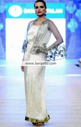 Akif Mahmood Jumpsuit Collection PFDC L'Oreal Paris Bridal Couture Week 2014