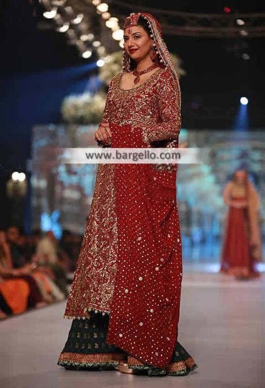 Umsha Babar Wedding Sharara Collection Milton London UK Wedding Sharara PBCW 2014