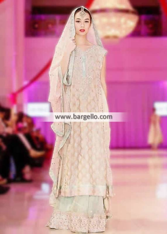 Sana Abbas Designer Sharara Collection Wedding Suits Special Occasions Suits IBFJW 2013