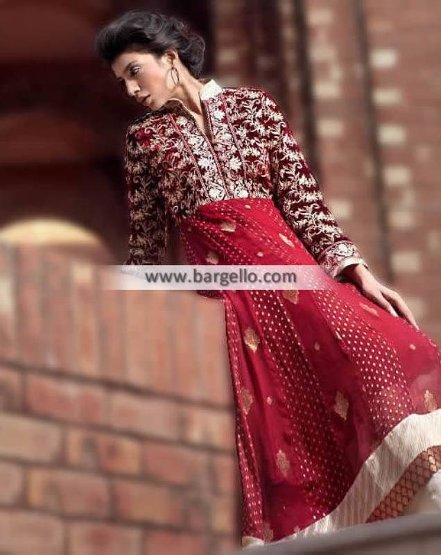 Anarkali Suits Wedding Party Dresses Threads and Motifs Newcastle UK London