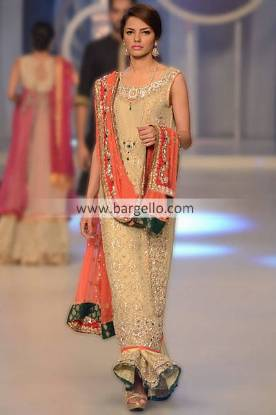Asifa Nabeel Latest Party Evening Formal Wear at Bridal Couture Week 2013 Farmington Hills MI