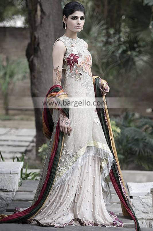 Elan Khadijah Shah Bridal Wear Collection Dallas TX, Latest Elan Bridal Outfits Austin TX