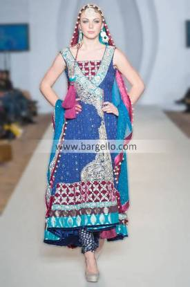 Zainab Chottani Anarkali Wedding Suits For Evening Parties and Special Occasions Edinburgh City UK
