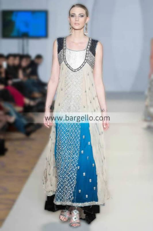 Designer Shazia Kayani Asian Party Outfits For Special Occasions Barat Mehendi & Walima Austin Texas