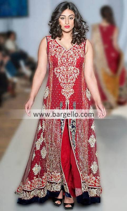 Sara Rohale Asghar Special Occasions Outfits For Parties at Pakistan Fashion Week London UK