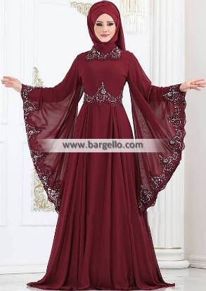 Burgundy Hyacinthus Perfect Choice Jilbab Rochester New York USA