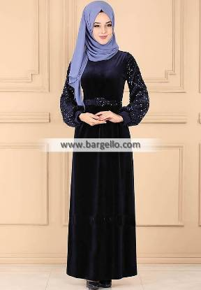 Dark Navy BlueThistle Boxboro Massachusetts USA Premium Quality Jilbab