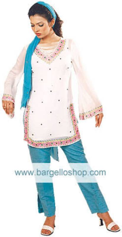 Pakistani Evening Dress, Trouser Suit for Party Wear