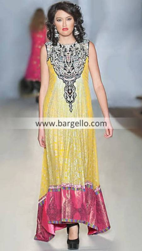 Beautiful Anarkali Frock Dresses By Pakistani Designers The Galleria Mall Houston Texas