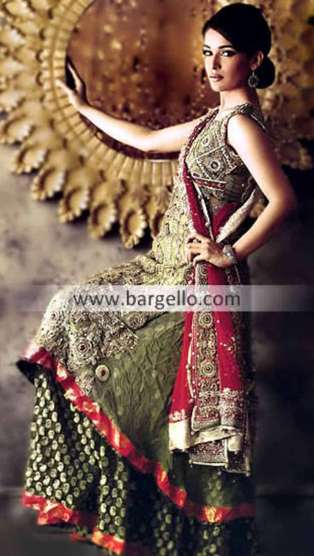 Designer Embroidered Indian Gharara Grimsby Humberside, Chiffon Gharara Dress Online Swind Wiltshire