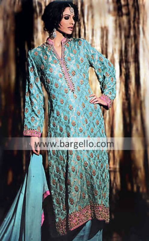 Latest Fashion in Pakistani Outfits Manchester, Latest Party Wear Collection 2012 California USA
