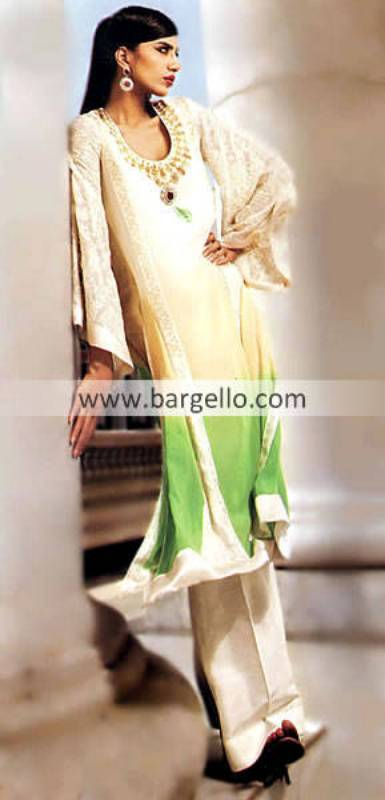 Evening Party Anarkali Dresses at Bargello.com, Buy Latest Indian Fashion Embroidered Evening Party