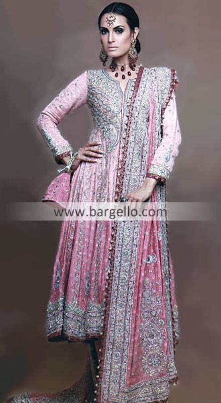 Wedding Anarkali Suits, Anarkali Style Wedding Shalwar Kameez, Anarkali Dress Collection