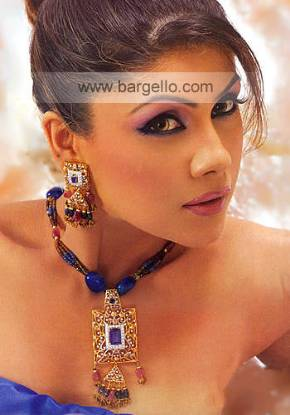 Traditional Jewelry Set with Jalee Work Jali Work Jewellery