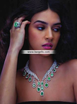Latest Necklace Designs Indian Pakistani Necklace and Ring Set UK USA Canada