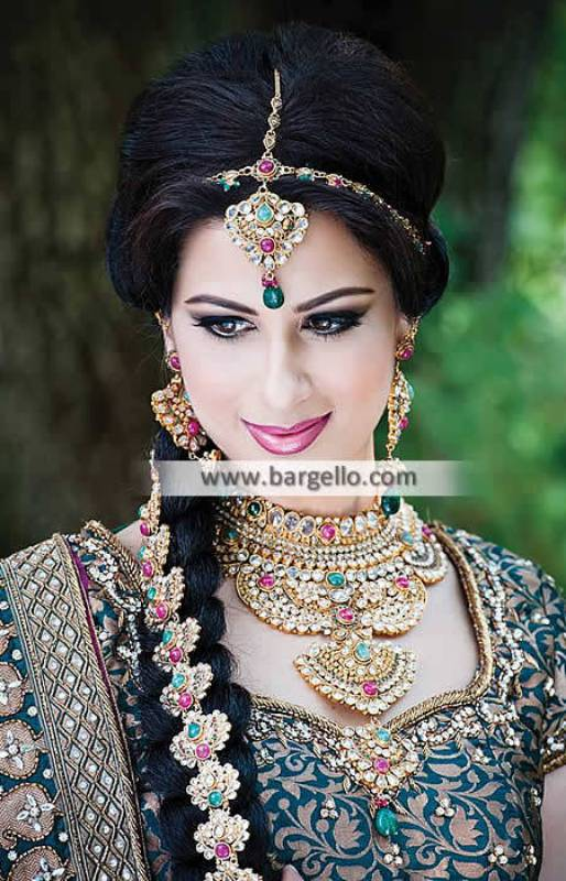 Stylish Gold Plated Jewellery Sets Kansas City Missouri MO Kundan and Zircon Jewellery Sets in Gold