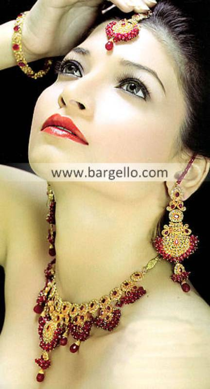 Stunning Indian Gold Plated Jewellery Sets Westford Massachusetts US Ruby Stone Jewellery Sets