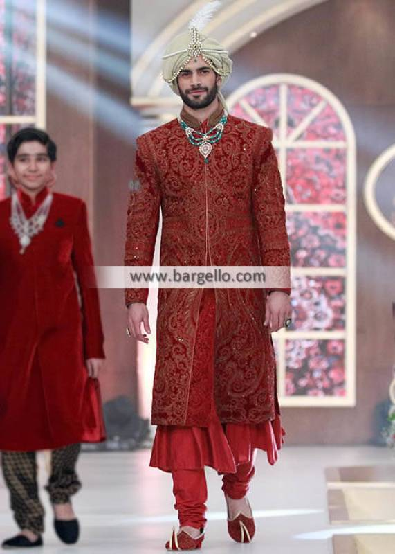 Outstanding Groom Sherwani Suits Maryland Baltimore MD Mens Collection