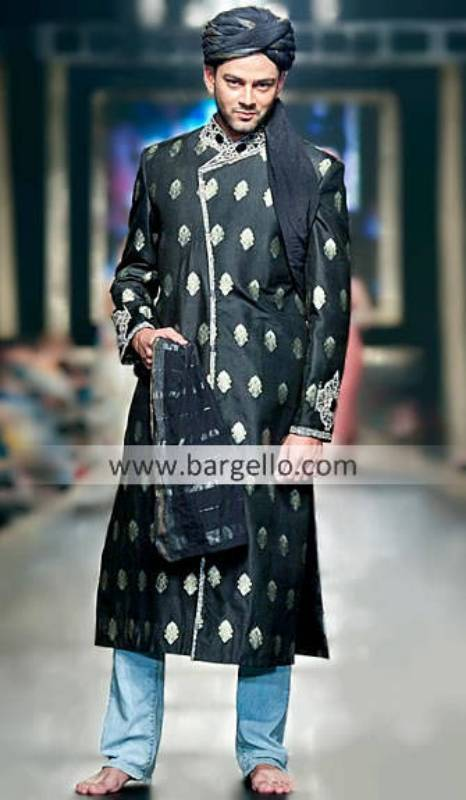 Pakistani Indian Ethnic Haute Couture Sherwanis & Asian Menswear Pakistan India, Sherwani in USA