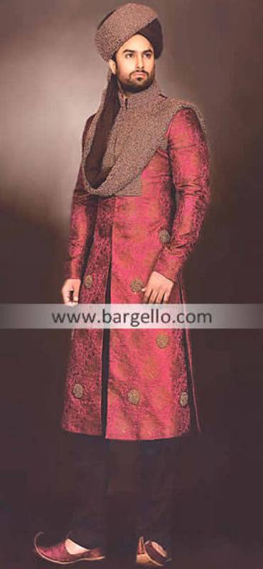 Wedding Sherwani Dresses Florida Orlando, Wedding Jamawar Sherwani Miami Georgia, Sherwani Austin TX