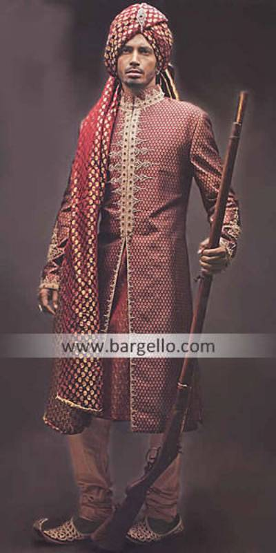Velvet Sherwani Birmingham, Velvet Sherwani California San Diego, Indian Menswear New York Texas TX