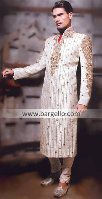 Embroidered Sherwani, Mens Embroidered Sherwani, Men's Sherwani, Indo Western Sherwani